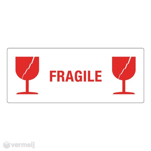 1 Sticker Fragile 01