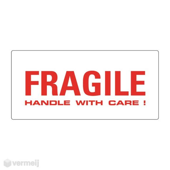 1 Sticker Fragile b