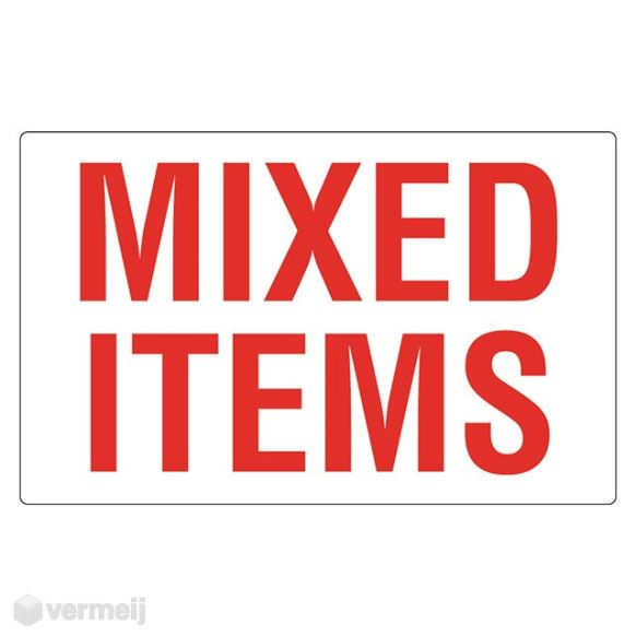 1 Sticker Mixed Items