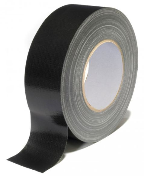 Duct tape - Nichiban zwart