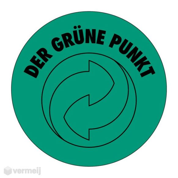 Shipping en attention labels -  DER GRÜNE PUNKT