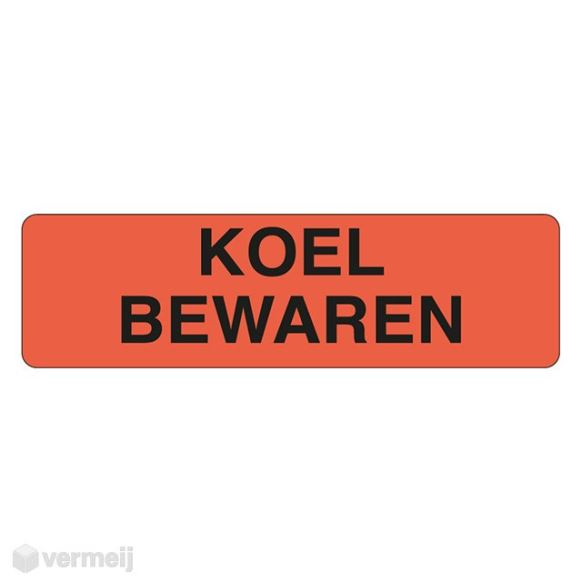 Shipping en attention labels -  KOEL BEWAREN