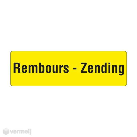 Shipping en attention labels -  REMBOURS