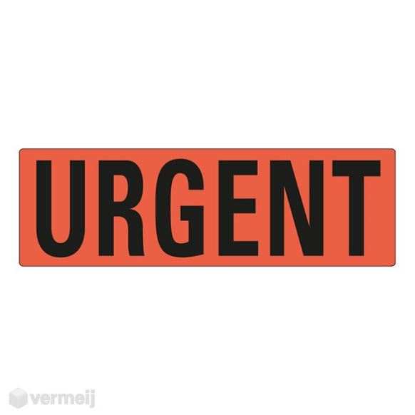 Shipping en attention labels -  URGENT
