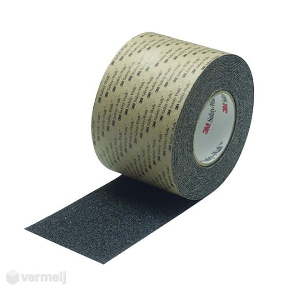 Antislip materialen - Type COZW5       Safety Walk 610 vervormbaar zwart   51 mm x 18.3 mtr p/rl