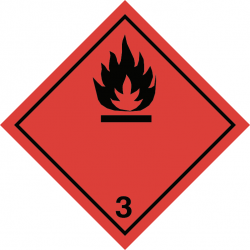 ADR etiketten -  ADR 3.0 Flammable liquid PP