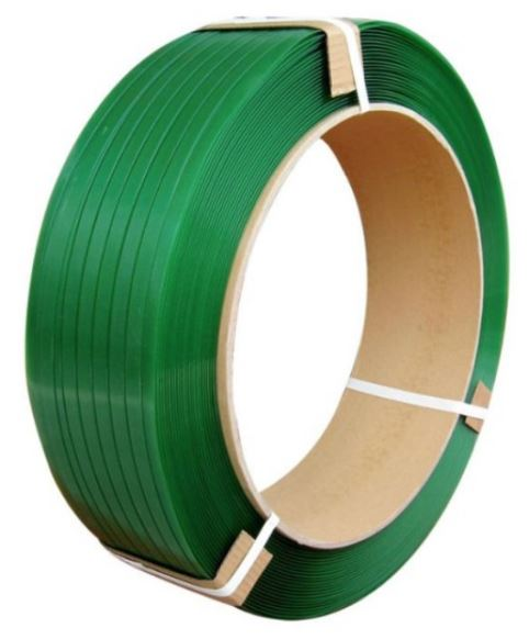 Omsnoeringsband - Strappingband PET 12 x 0.55 mm. 406/150 à 2600 mtr