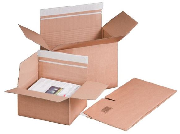 Brievenbus- en postdozen - 22.9 x 16.4 x 5-11.5 cm KS 10 packbox S