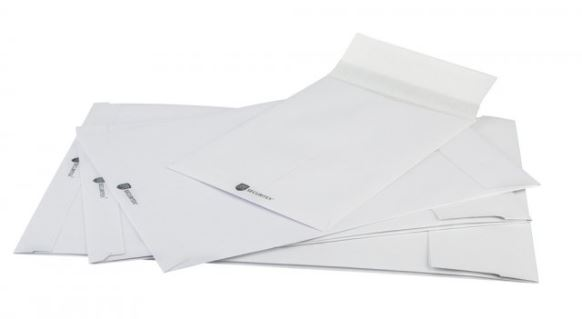 Waterafstotende enveloppen - Securitex enveloppen 16.2 x 22.9 cm