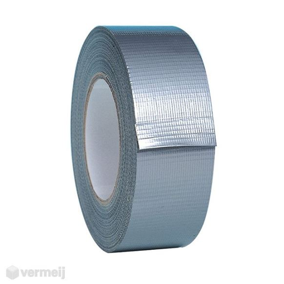 Duct tape - DUCT tape 50 mm x 50 mtr ZILVER